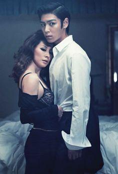 Lee Mi Sook & Big Bang TOP