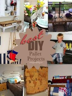 DIY Pallet Projects by wylene