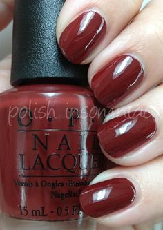 """OPI Skyfall - Last of the """"serious"""" winter colors I wore in early March - nice!"""