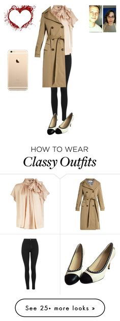 """""""Vintage style meets classy chic"""" by joydjschmidt on Polyvore featuring Topshop, Chanel, Golden Goose and vintage"""