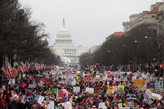 Thank you for marching and inspiring us to continue fighting for our rights.  Washington, DC | 32 Of The Most Powerful Photos Of Women's Marches Around The World