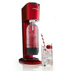 Red SodaStream Genesis- Makes Tasty Drinks! - Sweet! Valentines Day