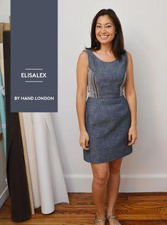 A chambray Elisalex dress - Workroom Social • Brooklyn, NY
