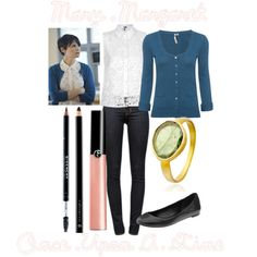 """""""Mary Margaret"""" by kmacleod on Polyvore"""