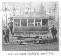 """1897. Stories and Lore of the Horse Car Lines..... Before the old (Kansas City) cars were taken off for good, a farewell trip was made in them, gaily decorated with flowers and flags, and a party of children, officials, and newspaper men took a last ride. But the mules! Perhaps the oldest one in the service of the company and one that has faced the vicissitudes of earlier times, is """"Old Buck"""" who was purchased by Mr. Holmes when but three years old, and has... Courtesy: Doug, R.R.STUFF (USA). St Joes, Kansas City Missouri, City Car, Embedded Image Permalink, Old Photos, City Photo, Old Things, Donkeys, Black And White"""