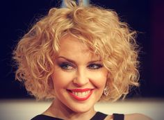curly stacked bob - Google Search