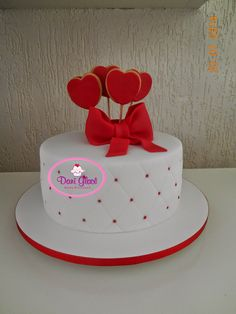 The Love Cake by Dani Leal www.daniglace.blogspot.com