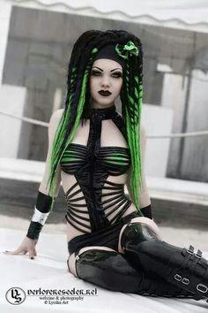 Amazing Cyber-Goth
