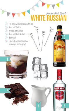 Jenna Sais Quois: Cocktail Hour: White Russian