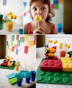 more the lego party!  idea for jake's 6th birthday