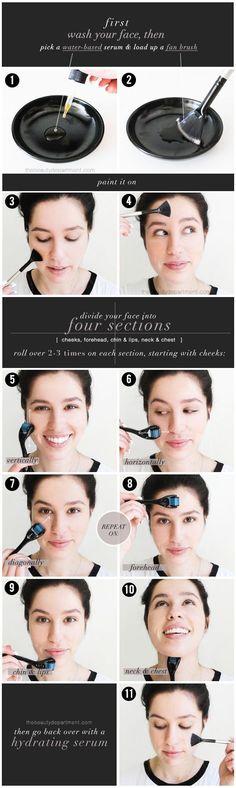 the beauty department: diy microneedling