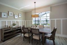 Light, bright and airy dining room in Bonita Landing!