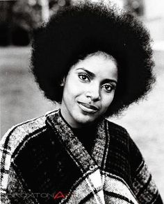 Phylicia Rashad in her natural hair days.