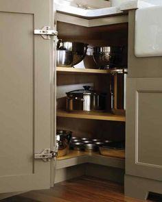 Corner Kitchen Cabinet - Kitchen Design Ideas | Apartment Therapy