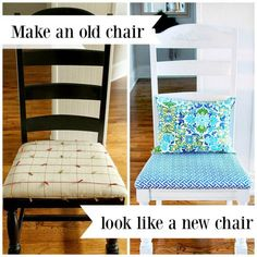 simple steps to make an old chair look new again
