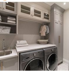 Amazing Laundry Closet Ideas To Save Space And Get Organized. Below are the Laundry Closet Ideas To Save Space And Get Organized. This article about Laundry Closet Ideas To Save Mudroom Laundry Room, Laundry Room Layouts, Laundry Room Remodel, Farmhouse Laundry Room, Laundry Room Organization, Laundry Room Design, Laundry Room With Storage, Ikea Laundry Room Cabinets, Utility Room Storage