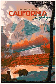 """""""The Zephyr"""" Travel Poster by Laurent Durieux (Onsale Info)"""