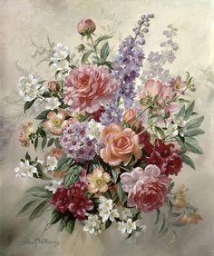ahşap boyama için çiçek desenleri örnekleri dekupaj desen tepsi kutu