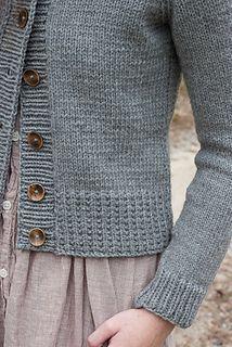 Knitting Patterns Cardigan Ravelry: Ramona Cardigan pattern by Elizabeth Smith Knitting Patterns Free, Knit Patterns, Hand Knitting, Free Pattern, Knitting Machine, Knitting Sweaters, Loom Knitting, Stitch Patterns, Elizabeth Smith