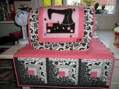 (2) Patty Aguayo - Fundas para nuestra querida máquina de coser :)