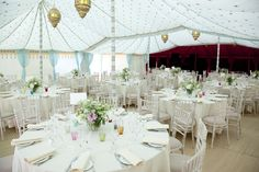 The Raj Tent Club - TRIPLE MAHARAJA WITH DOVE EGG/GOLD STAR LINING FOR THE DINING AREA, RED/GOLD STAR FOR THE DANCING AREA