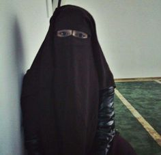 At the Masjid in Niqab