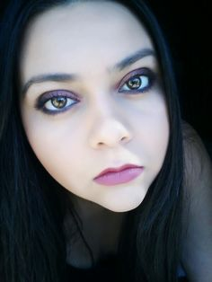 Grunge make up look, all MAC products  (: