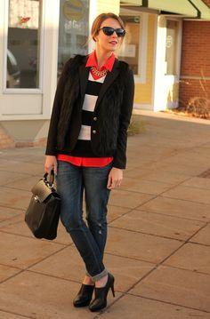 Layered Fur  Penny Pincher Fashion