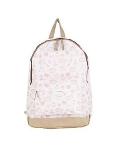 Pusheen And Things Print Backpack,