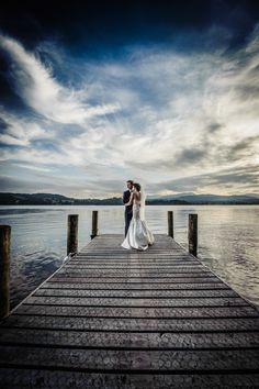 Pixies in the Cellar: Langdale Chase Wedding - Windermere. Evening light on the lake.