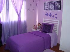 decoracao de quarto feminino lilas 1