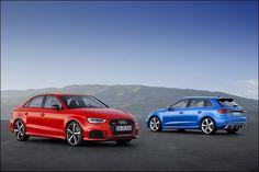 Audi RS 3 Sportback e RS 3 Sedan 2017: Uscita