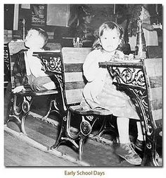 Ahhh... the days of one room schoolhouses- we had these in my elem school that was not a one room school.
