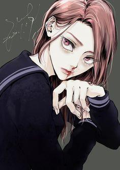 Manga Girl, Anime Art Girl, Tokyo, Ecchi, Fanarts Anime, Attack On Titan Anime, The Sims, Shiba, Anime Demon