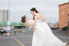 Gorgeous Grey Urban Wedding in Downtown Spokane