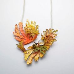 CHOI, JI EUN-KOREA NECKLACE | FOREST SERIES, 2010 COPPER, SILVER 925, GLASS…