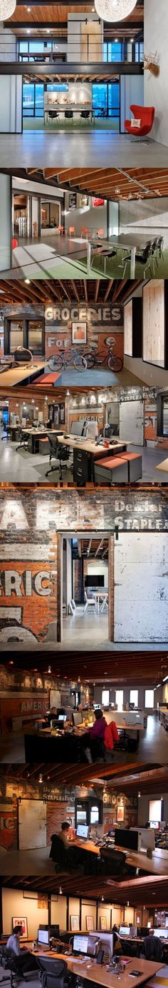Turnstyle Studio, Seattle, Washington #bafco #bafcointeriors Visit www.bafco.com for more inspirations.
