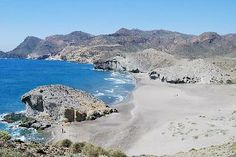 Playa de Monsul -- Cabo de Gata -- Nijar Natural Park