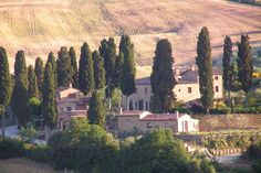 Charming hotel in Val d'Orcia