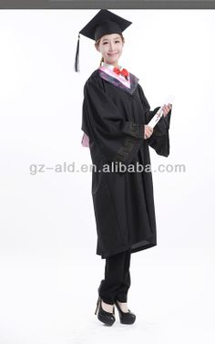 Elegant Pretty Children Graduation Gowns High Quality Children's ...