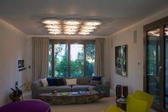 Lighting by PSLab for YAFAWI interior design on private residence, Forte Dei Marmi.