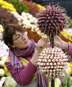 Follow P i g t o w n * D e s i g n: RHS Chelsea Flower Show and use your garden produce for decor.