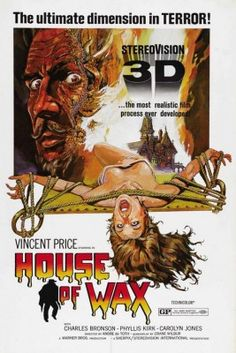 House of Wax 1953 Movie Poster