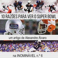 O Super Bowl já passou, mas vale a pena conhecer as razões do Alexandre para ver jogos de futebol americano. Leiam na #revistainominavel no. 6  https://www.joomag.com/magazine/inominável-ano-2-inominável-nº6/0916649001484564651?short  #revistaonline #revista #revistaportuguesa #portuguesemagazine #portugal #sports #desporto #superbowl #futebolamericano #football #bookstagram #instadaily  [link in bio]