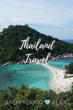 Reisetipps Thailand   Backpacking Route   Bangkok, Chang Mai, Koh Tao,..