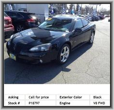 2006 Pontiac Grand Prix GXP Sedan  Headlights Off Auto Delay, Vehicle Emissions: Ulev, 4 Door, Radio Data System, Rear Leg Room: 36.2, Front Leg Room: 42.2, Leather/Metal-Look Steering Wheel Trim, Leather Shift Knob Trim, Door Pockets: Driver And Passenger, Diameter Of Tires: 18.0, Anti-Theft Alarm System, Regular Front Stabilizer Bar, Cupholders: Front And Rear, Cargo Tie Downs, Center Console: Full With Covered Storage