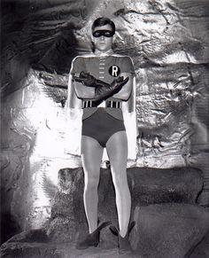 Burt Ward as Robin from the Batman TV series