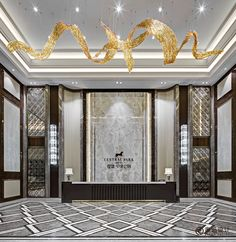 Need ideas for a lobby? Discover the latest trends with Memoir. Luxury Chandelier, Luxury Lighting, Custom Lighting, Lobby Lounge, Hotel Lobby, Western Restaurant, Hotel Reception, Restaurant Lighting, Large Chandeliers