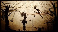 Creature.Gorgeous.: How Delightful: Shadow Puppetry