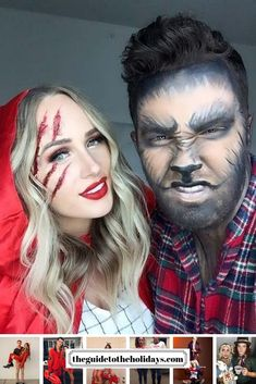 These Halloween Costumes for couples are guaranteed to look amazing. From a Cat Fight to Alice in Wonderland there is something for every couple!